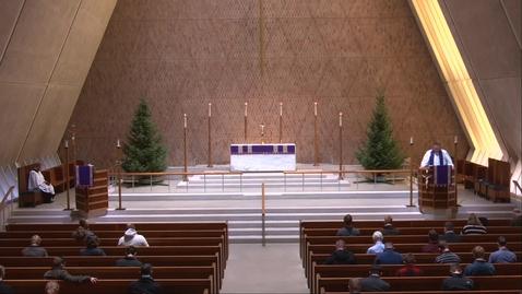 Thumbnail for entry Kramer Chapel Sermon - Friday, December 11, 2020