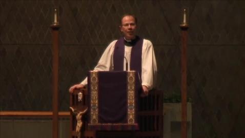 Thumbnail for entry Kramer Chapel Sermon - March 14, 2016