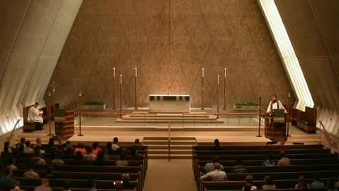 Thumbnail for entry Kramer Chapel Sermon - June 27, 2016