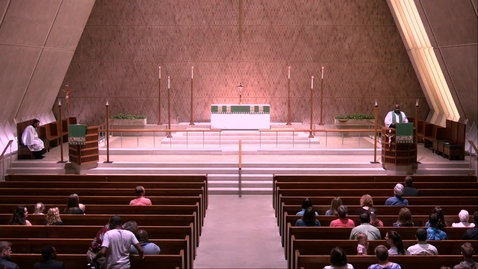 Thumbnail for entry Kramer Chapel Sermon - Tuesday, July 09, 2019