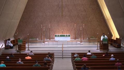 Thumbnail for entry Kramer Chapel Sermon - Thursday, July 23, 2020