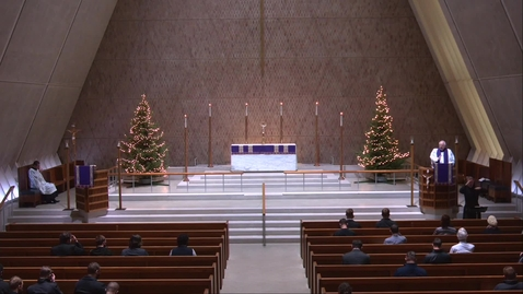 Thumbnail for entry Kramer Chapel Sermon - Thursday, December 17, 2020