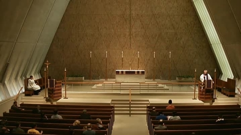 Thumbnail for entry Kramer Chapel Sermon - March 20, 2015