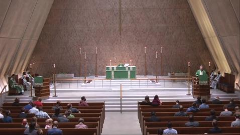 Thumbnail for entry Kramer Chapel Sermon - Wednesday, September 30, 2020