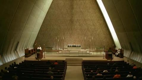 Thumbnail for entry Kramer Chapel Sermon - October 20, 2014