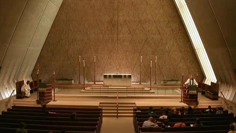 Thumbnail for entry Kramer Chapel Sermon - July 31, 2015