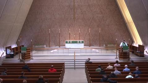 Thumbnail for entry Kramer Chapel Sermon - Friday, February 12, 2021
