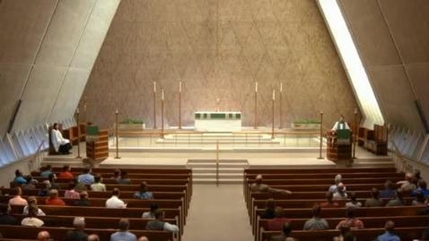 Thumbnail for entry Kramer Chapel Sermon - September 15, 2016