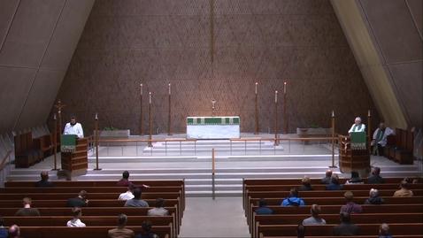 Thumbnail for entry Kramer Chapel Sermon - Thursday, October 15, 2020
