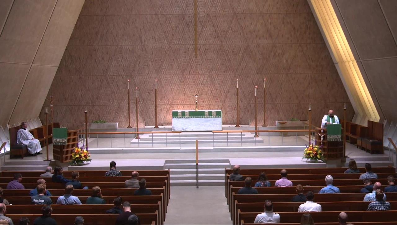 Kramer Chapel Sermon - Friday, September 10, 2021