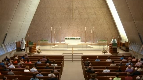 Thumbnail for entry Kramer Chapel Sermon - September 12, 2016