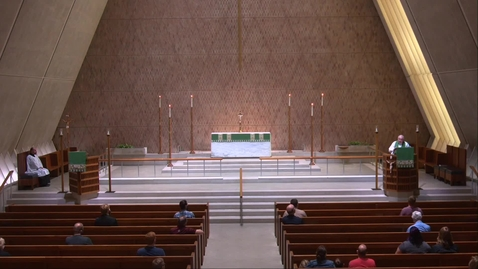 Thumbnail for entry Kramer Chapel Sermon - Thursday, July 16, 2020