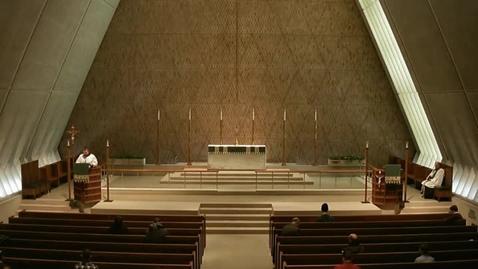 Thumbnail for entry Kramer Chapel Sermon - February 16, 2015