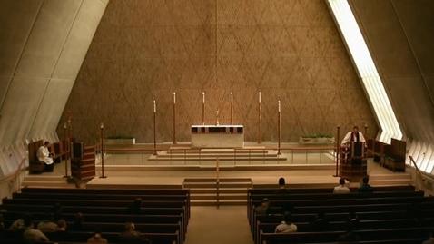 Thumbnail for entry Kramer Chapel Sermon - December 7, 2015