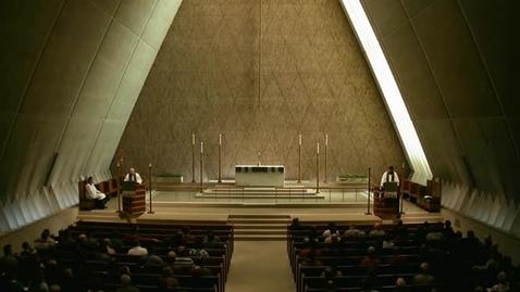 Thumbnail for entry Kramer Chapel Sermon - September 25, 2014