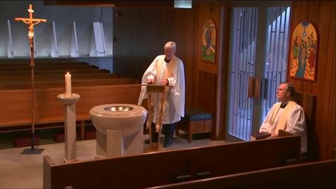 Thumbnail for entry Kramer Chapel Sermon - Monday, May 11, 2020
