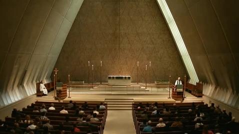 Thumbnail for entry Kramer Chapel Sermon - October 03, 2014