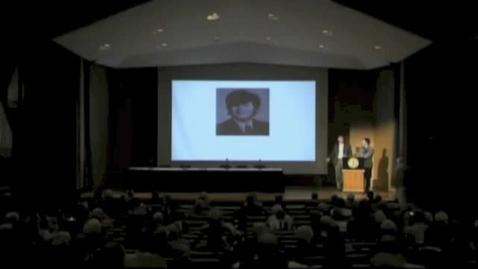 Thumbnail for entry Symposia 2013 - Presentation to John Pless