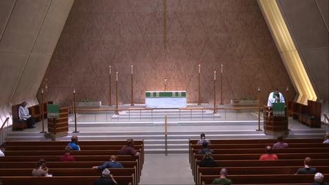 Thumbnail for entry Kramer Chapel Sermon - Thursday, July 02, 2020