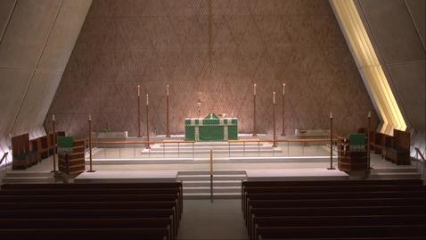 Thumbnail for entry Kramer Chapel Sermon - Wednesday, June 9, 2021