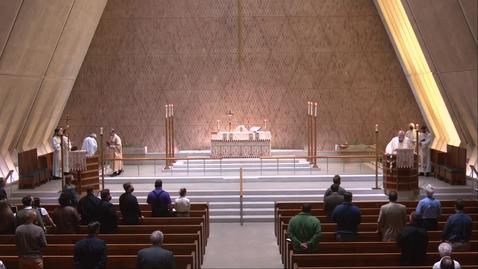 Thumbnail for entry Kramer Chapel Sermon - Wednesday, April 14, 2021