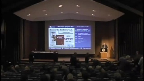 Thumbnail for entry Symposia 2011 - The Reception of Walther's Theology in the Wisconsin Synod - Video