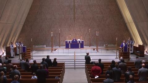 Thumbnail for entry Kramer Chapel Sermon - Thursday, April 1, 2021