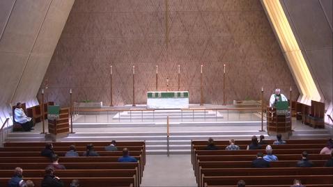 Thumbnail for entry Kramer Chapel Sermon - Thursday, February 11, 2021