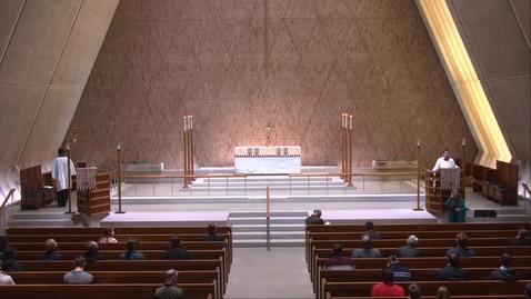 Thumbnail for entry Kramer Chapel Sermon - Monday, April 19, 2021