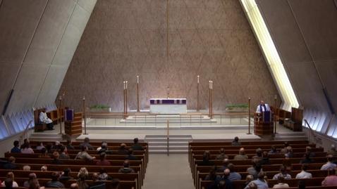 Thumbnail for entry Kramer Chapel Sermon - March 16, 2018