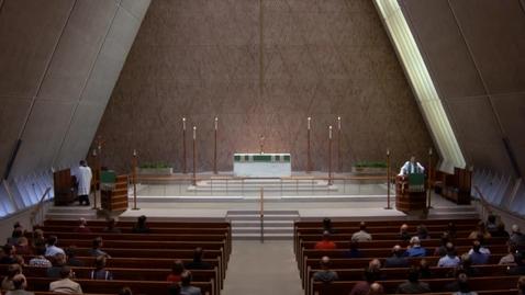 Thumbnail for entry Kramer Chapel Sermon - September 12, 2017