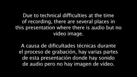 Thumbnail for entry ILC 2010 - Session 2 Video - Spanish
