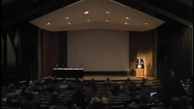 Thumbnail for entry Symposia 2011 - Walther's Use of Luther - Video