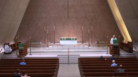 Thumbnail for entry Kramer Chapel Sermon - Monday, August 2, 2021