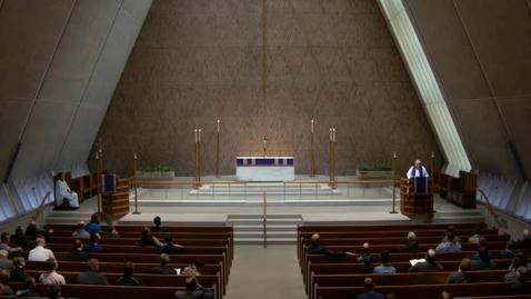 Thumbnail for entry Kramer Chapel Sermon - March 27, 2017