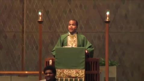 Thumbnail for entry Kramer Chapel Sermon - June 17, 2015