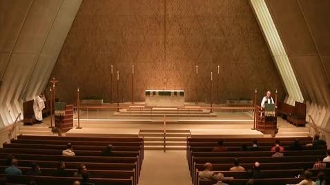 Thumbnail for entry Kramer Chapel Sermon - October 6, 2015