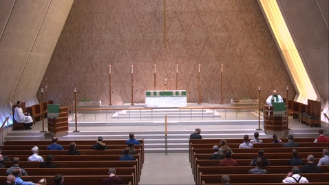 Thumbnail for entry Kramer chapel Sermon - Friday, January 29, 2021