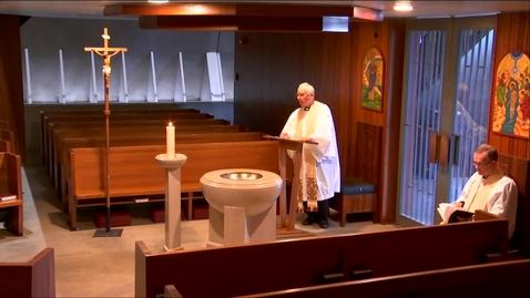 Thumbnail for entry Kramer Chapel Sermon - Thursday, March 19, 2020