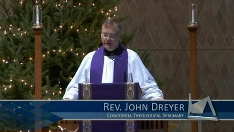 Thumbnail for entry Kramer Chapel Sermon - December 12, 2016