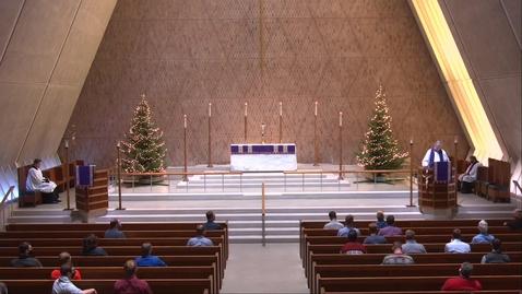 Thumbnail for entry Kramer Chapel Sermon - Friday, December 18, 2020