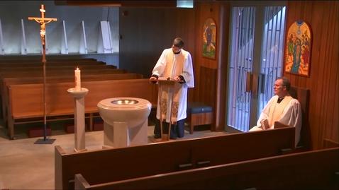 Thumbnail for entry Kramer Chapel Sermon - Thursday, May 21, 2020