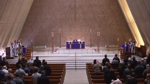 Thumbnail for entry Kramer Chapel Sermon - Wednesday, February 17, 2021