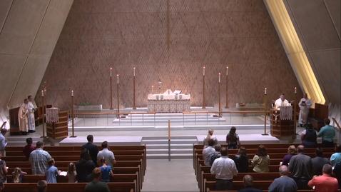 Thumbnail for entry Kramer Chapel Sermon - Thursday, July 22, 2021