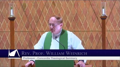 Thumbnail for entry Kramer Chapel Sermon - Friday, February 07, 2020