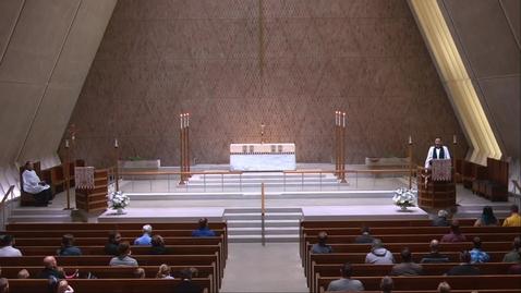 Thumbnail for entry Kramer Chapel Sermon - Friday, April 30, 2021