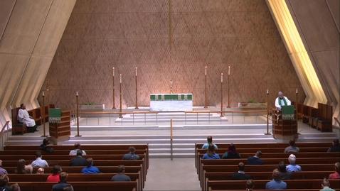 Thumbnail for entry Kramer Chapel Sermon - Friday, September 18, 2020