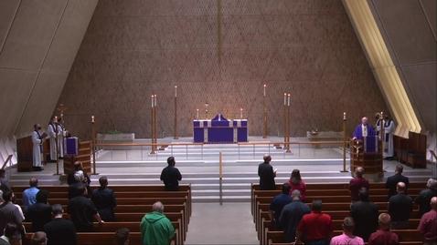Thumbnail for entry Kramer Chapel Sermon - Wednesday, March 24, 2021