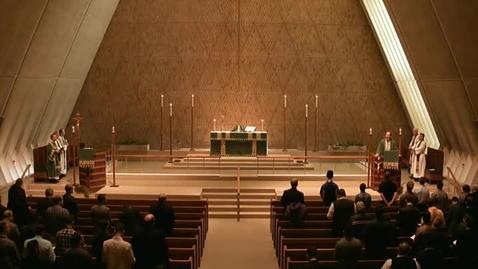 Thumbnail for entry Kramer Chapel Sermon - October 7, 2015