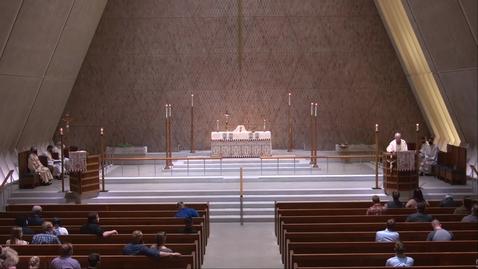 Thumbnail for entry Kramer Chapel  Sermon - Thursday, March 25, 2021